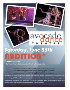 Avocado Audition June2016