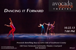 DancingItForward2013poster