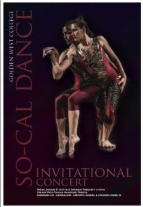 SoCal Dance Invitational poster